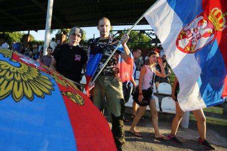 ДНР не оставила шансов ЛНР на футбольном поле