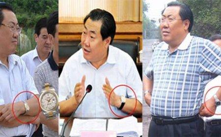 В Китае «спалившегося» с дорогими часами чиновника приговорили к 14 годам за коррупцию