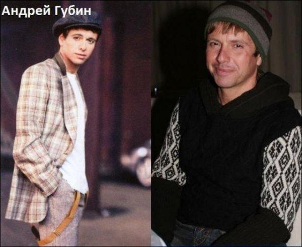 """Российские знаменитости 90-х """"тогда и сейчас"""""""