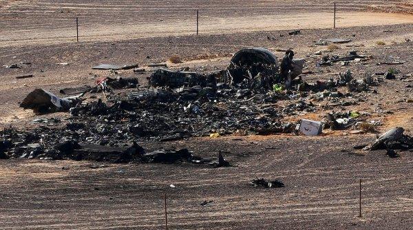 Новые кадры с места крушения Airbus A321