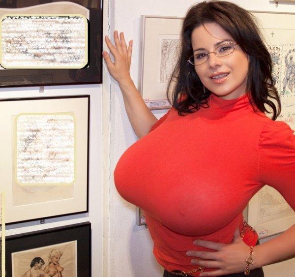 Фотоподборка - Чересчур большая грудь