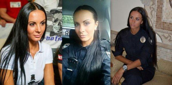 Самые красивые девушки новой полиции Киева