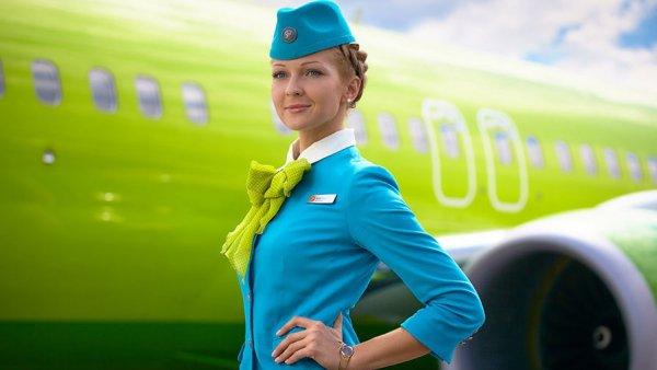 Названа самая сексуальная стюардесса России