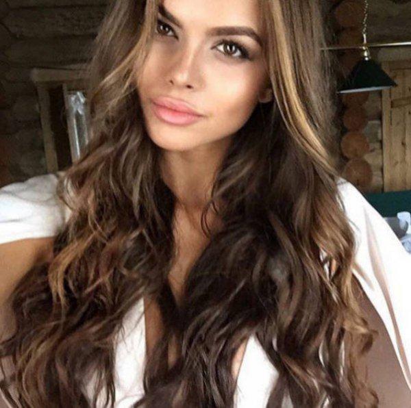 Красивые Русские девушки из социальных сетей. Часть - 4