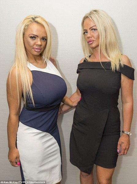 Изуродованные пластикой мама и дочь станут звездами ТВ-шоу