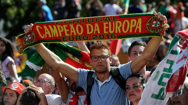 Как Португалия встретила свою сборную