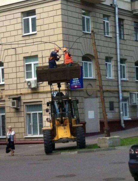 Такое можно встретить только в России. Часть - 5
