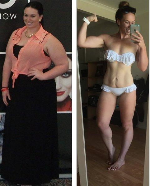 Женщина с экстремально лишним весом сбросила 55 кг за 9 месяцев