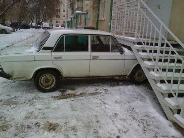 Такое можно встретить только в России. Часть - 6
