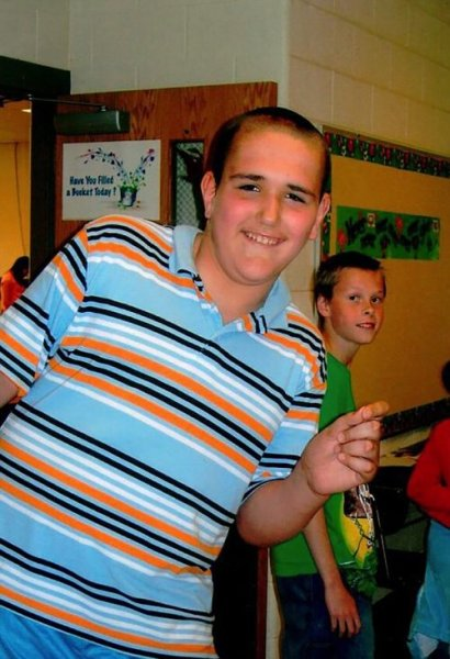 Брок Браун - 19-летний парень, который до недавних пор был самым высоким подростком в мире