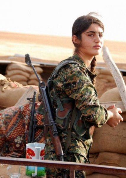 В Сирии погибла курдская Анджелина Джоли