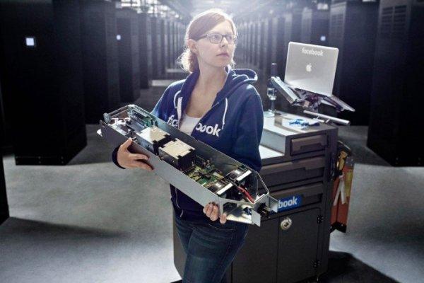 Там, где живет социальная сеть Facebook