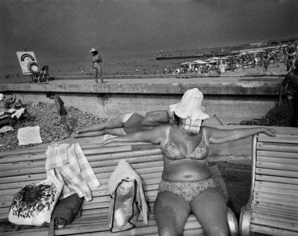 Как это было: сочинские пляжи 1988 года в объективе бельгийского фотографа