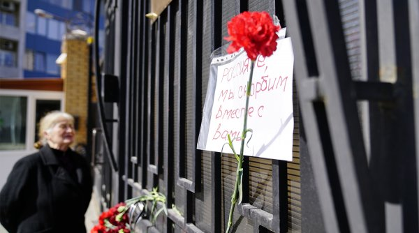 Фото: Памяти жертв теракта в метро Петербурга