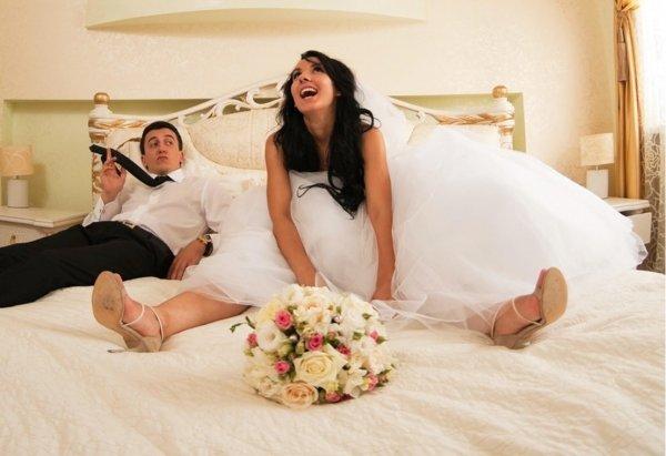 Секс на свадбе первая брачная ночь