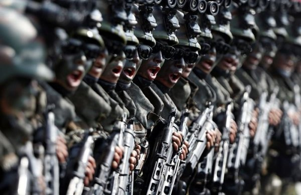 КНДР показала силы специального назначения
