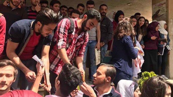 В Сирии стартовала акция «Георгиевская ленточка»
