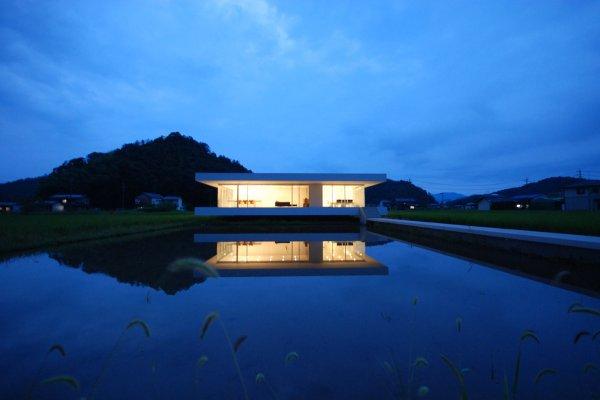 Современный дом в японской провинции