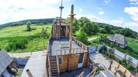 Дом-корабль в Белгородской области