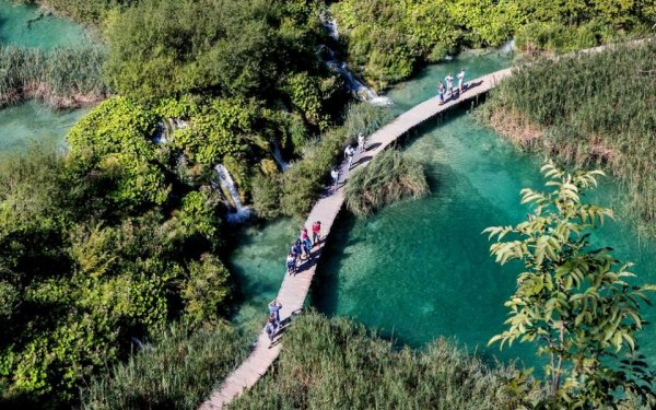 Там где самая голубая вода в мире