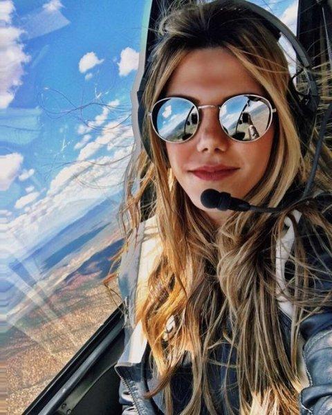 Девушка-пилот Луана Торрес покоряет Instagram