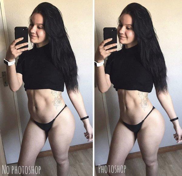 Реальность, скрывающаяся за идеальными снимками фитнес-моделей в Instagram