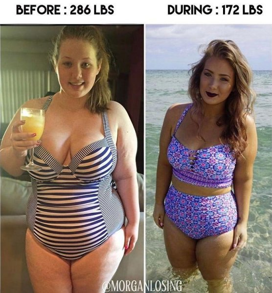 Эта девушка использовала Instagram, чтобы показать свою невероятную трансформацию