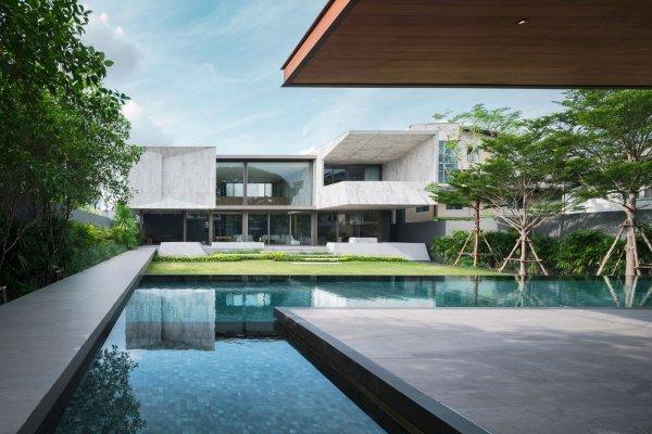Дом из мрамора в Таиланде