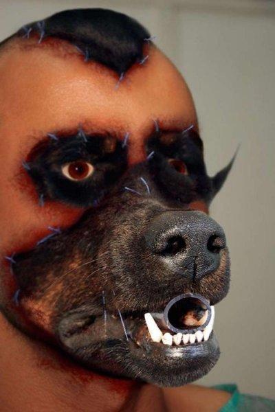 Человек-пес: История человека, который решил ″пересадить″ себе лицо собаки