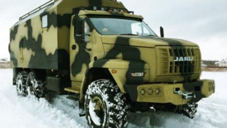 Российский дом на колесах «УРАЛ Next» создан по военным технологиям