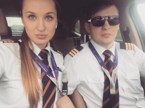 23-летняя пилотесса «Аэрофлота» и ее Instagram