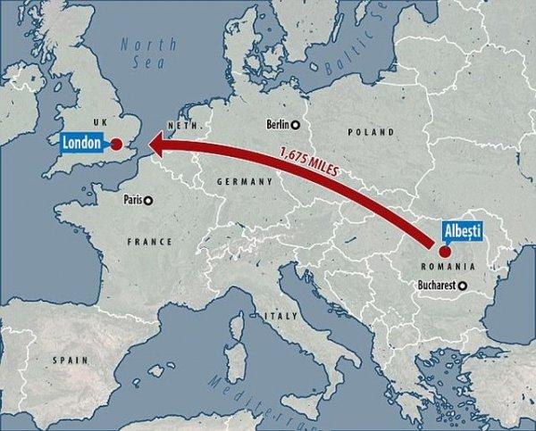 Житель Румынии пошел отдохнуть в паб и очнулся в Лондоне