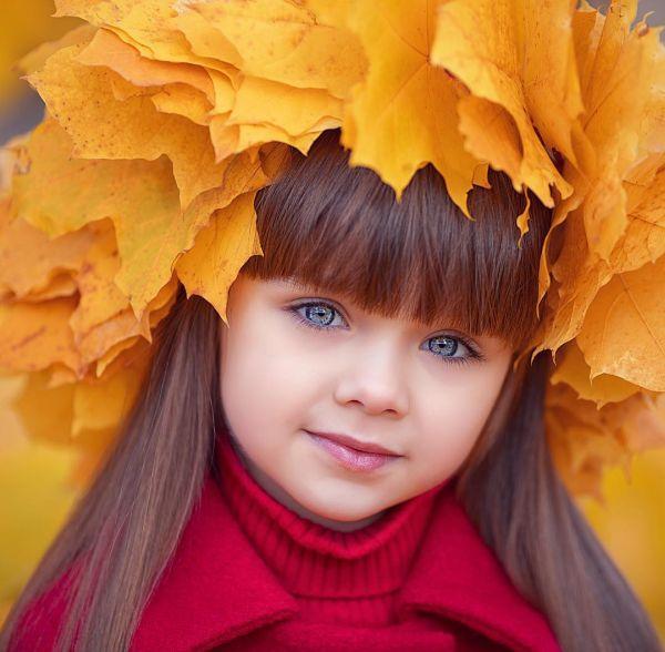 6-летнюю Анастасию Князеву назвали самой красивой девочкой в мире