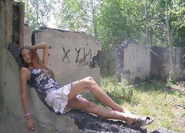 Гламур по-русски: берегите глаза от этой красоты!