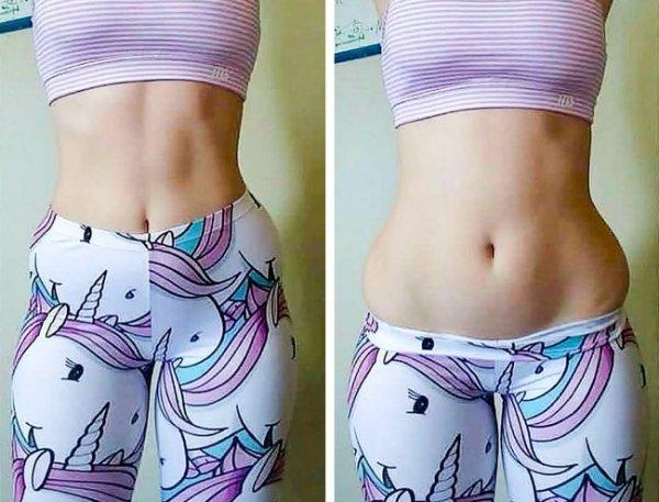 В инстаграме появился новый тренд: девушки доказывают, что идеальных фигур не существует