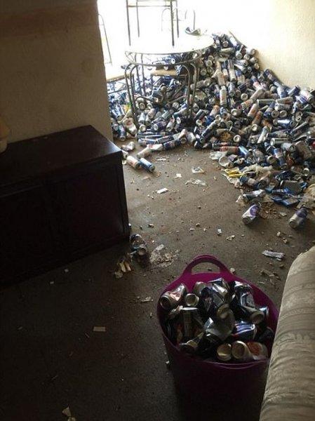 Арендодатель пришел в ужас, увидев во что превратили его квартиру