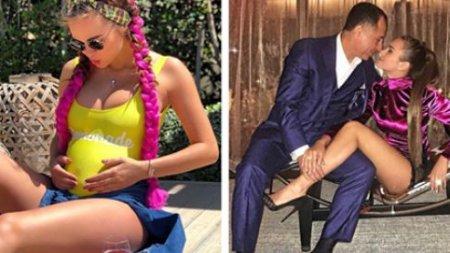28-летняя модель Ксения Дели ждет ребенка от 64-летнего мужа-миллиардера