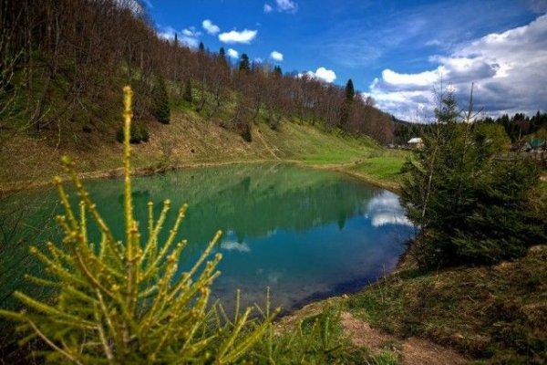 Уникальное озеро Сарва в Башкирии