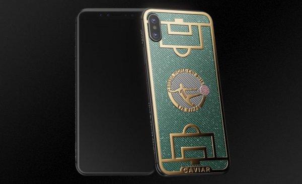«Нога Бога»: сейв Игоря Акинфеева увековечили на корпусе iPhone X