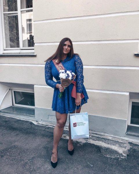 Настя Блинова - девушка с характером