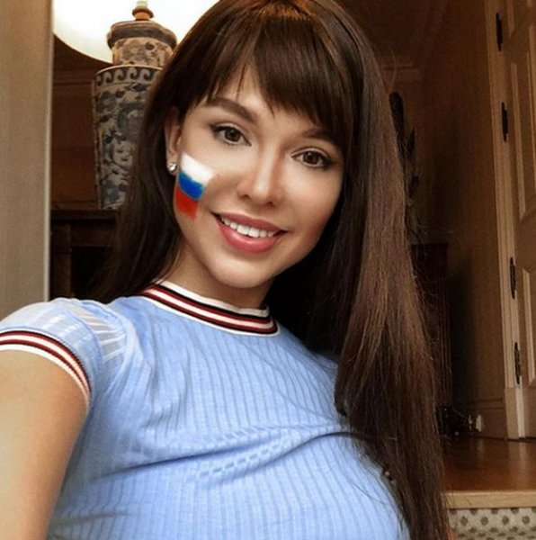 Мария Лиман - самая красивая российская болельщица по версии зарубежных СМИ