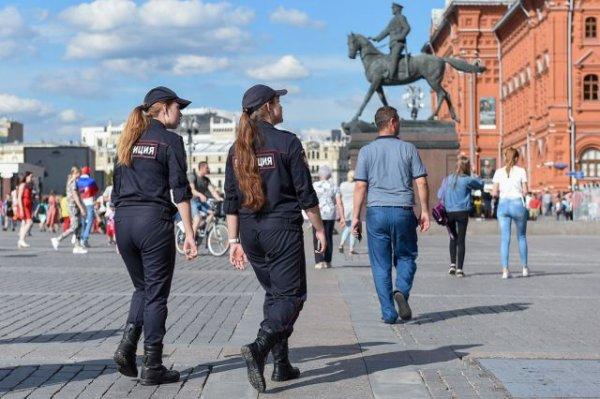 Столичная полиция в рамкам ЧМ 2018