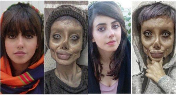 Как на самом деле выглядит иранская Анджелина Джоли