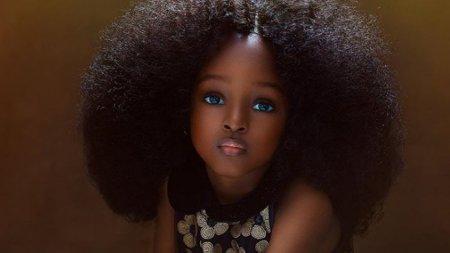 Пятилетняя девочка из Нигерии была признана самой красивой девочкой в мире.