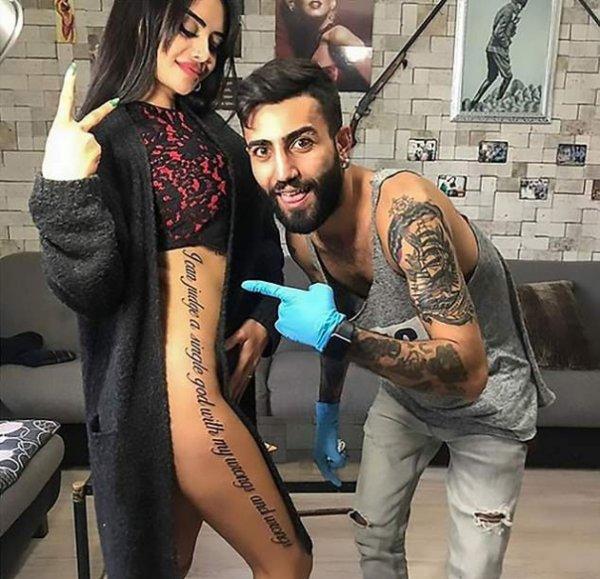 Instagram-звезда ошиблась с переводом для своей татуировки и опозорилась на весь мир
