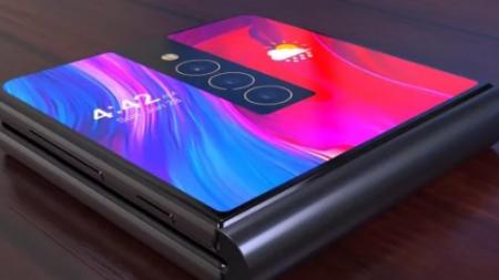 Глава Xiaomi показал прототип смартфона c гибким экраном, который складывается вдвое (Видео)