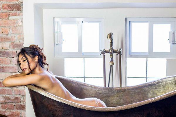 32-летняя мексиканская модель и актриса Саманта Родригес (Samantha Rodriguez) фото из Instagram
