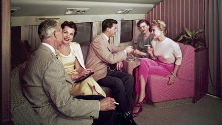 Каким был сервис в самолётах середины XX века