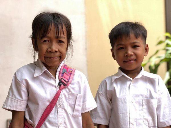 10-летняя «бабушка» из Камбоджи