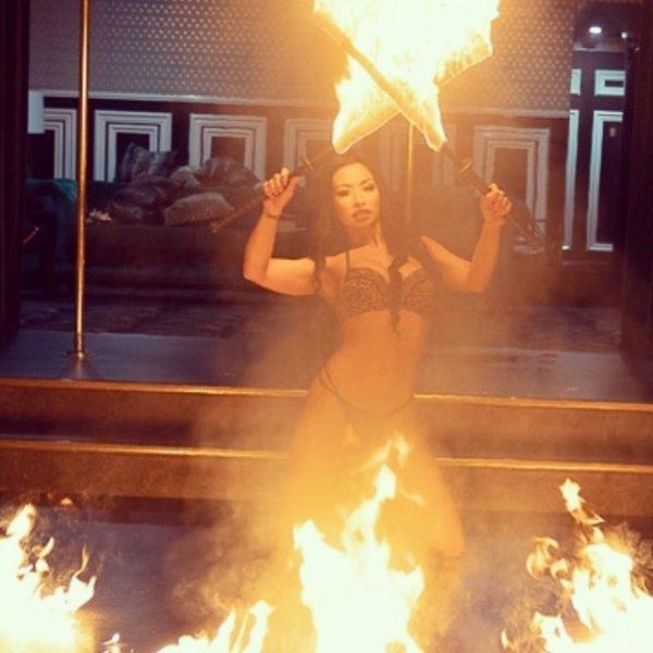 "Харли ван Денджерфилд - по-настоящему ""горячая"" стриптезерша"